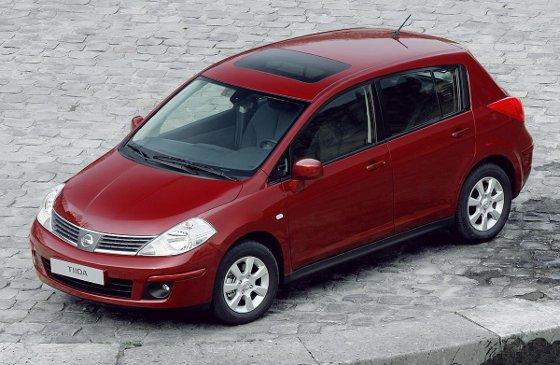 Nissan Tiida Tekna