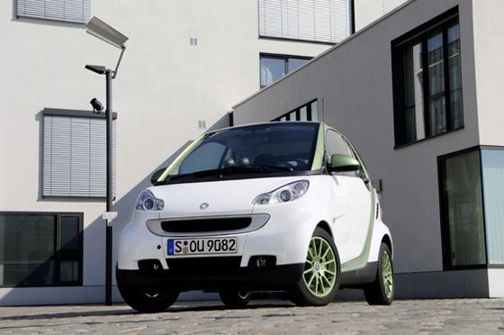 Smart Fortwo electric 2º generación 2009