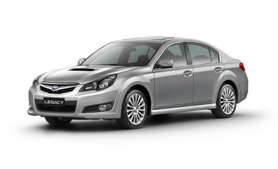 Subaru Legacy y Outback 2010 Europeos