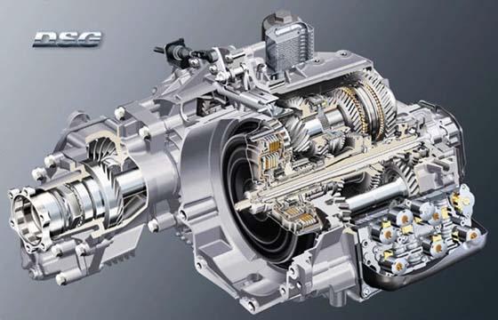 Volkswagen, transmisión doble embrague, 7 veloc.