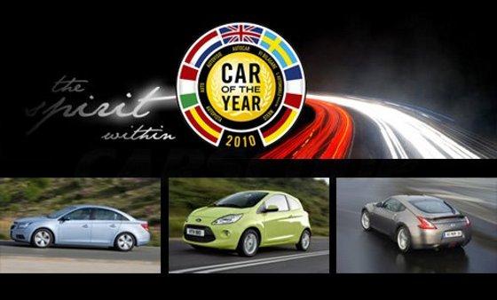 Auto del año 2010 en Europa