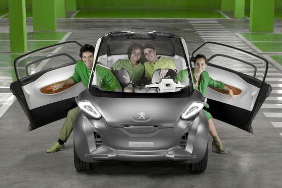 "Peugeot BB1 movilidad urbana emisión ""0"""