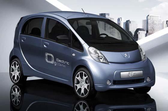 Peugeot IOn-ev « Emisiones cero »