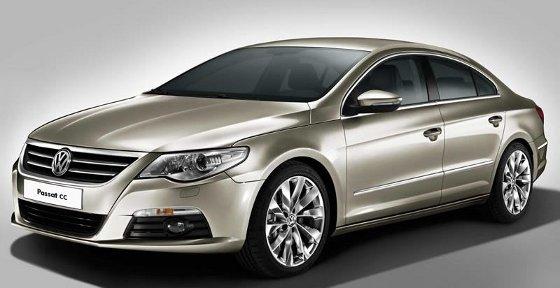 Volkswagen Passat CC, Lanzamiento oficial