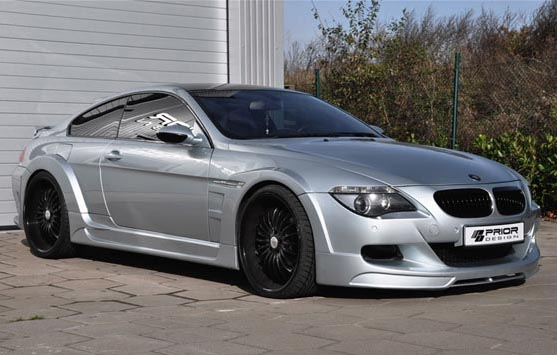 BMW M6 by Prior, wide body