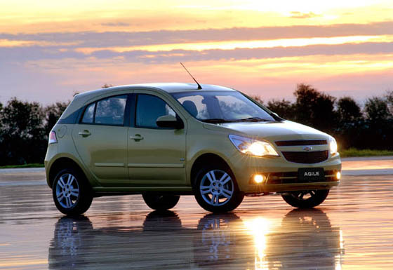 Chevrolet Agile en video