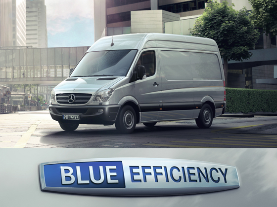 Mercedes-Benz Sprinter, BlueEFFICIENCY