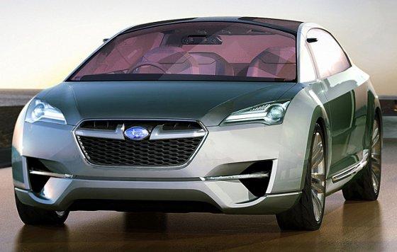 Subaru Tourer Concept Hibrido