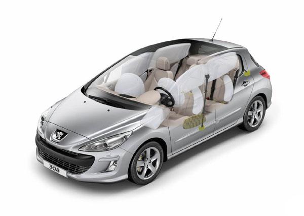 Peugeot 5 estrellas EuroNCAP
