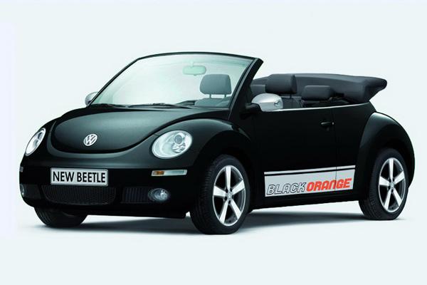 Volkswagen New Beetle 'Black-Orange'