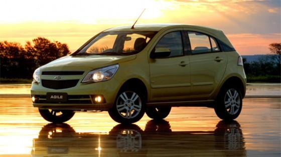 Chevrolet Agile, auto del año 2010