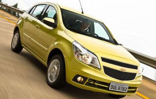 Chevrolet Agile con motores nuevos