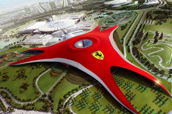 Ferrari, el show room mas grande