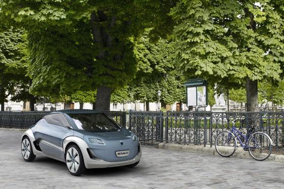 Renault Zoe Z.E. lanzamiento en 2012