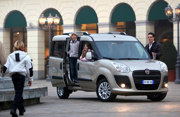 Fiat Dobló renovado, fotos oficiales