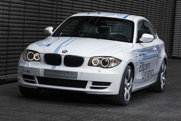 BMW Serie 1 Concept ActiveE,  eléctrico