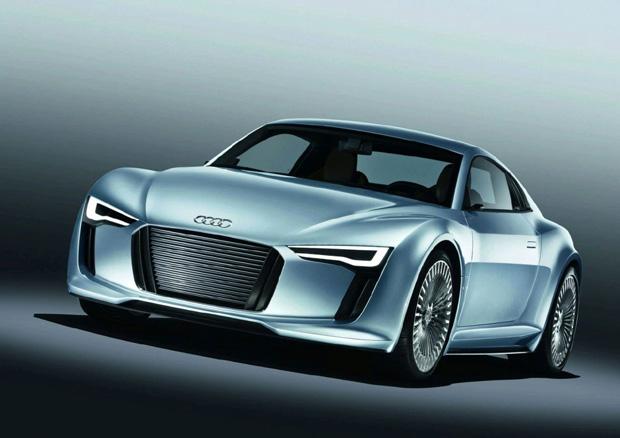 Audi E-tron en el Salón de Detroit