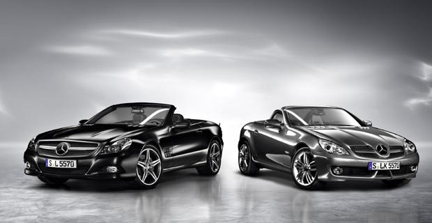 Mercedes-Benz SL y SLK en edición especial