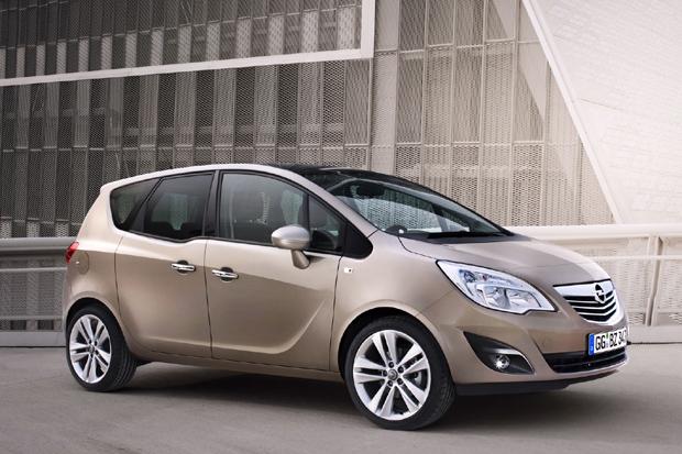 Opel Meriva 2011, nuevas fotos