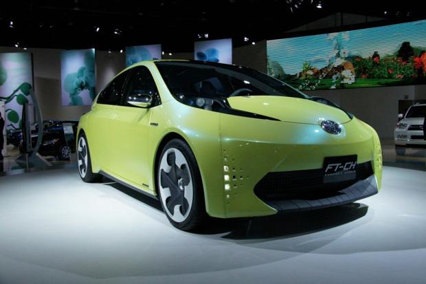 Toyota  FT-CH concept híbrido