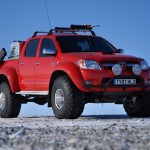 Toyota Hilux Invincible en el polo norte
