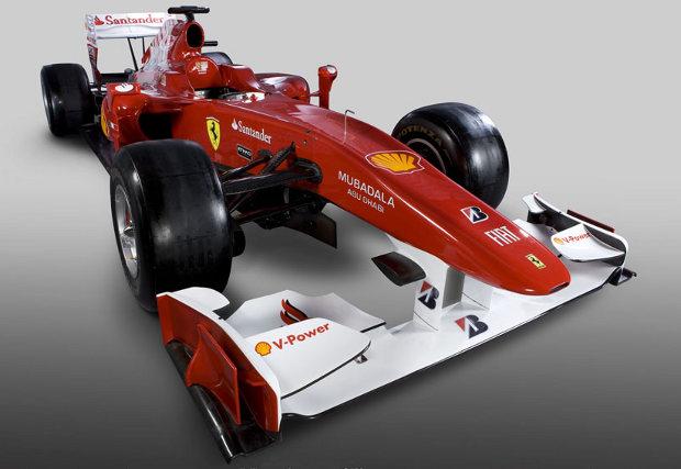 Ferrari F10, presentación