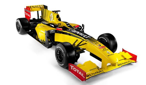 Renault R30 en la Formula 1 2010