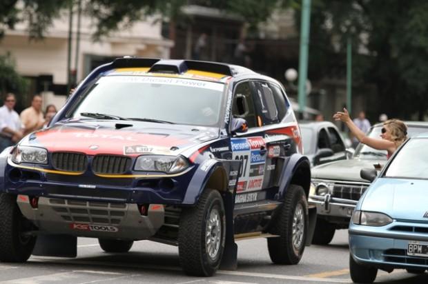 Dakar 2010, resumen Argentina y entrada en Chile