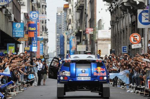 Final Rally Dakar 2010, llegada a Buenos Aires
