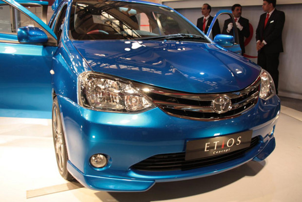 Toyota Etios, presentacion oficial