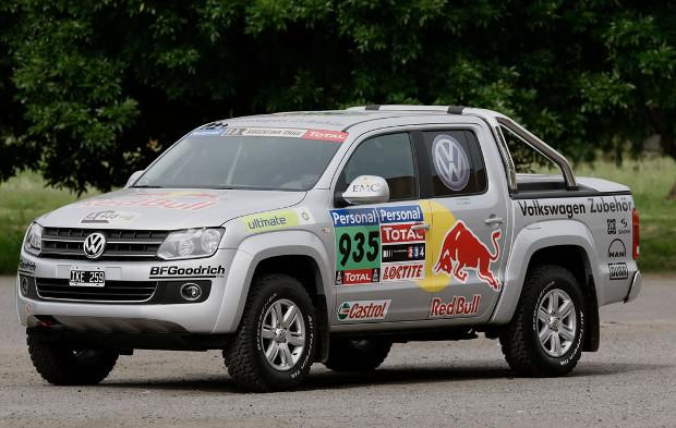 Volkswagen Amarok en el Rally Dakar