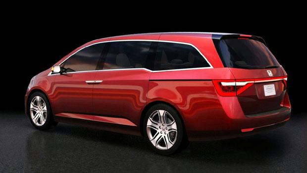 Honda Odyssey Concept Para 2011 Mundoautomotor