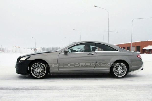 Mercedes Benz Clase S AMG Coupe fotos espía
