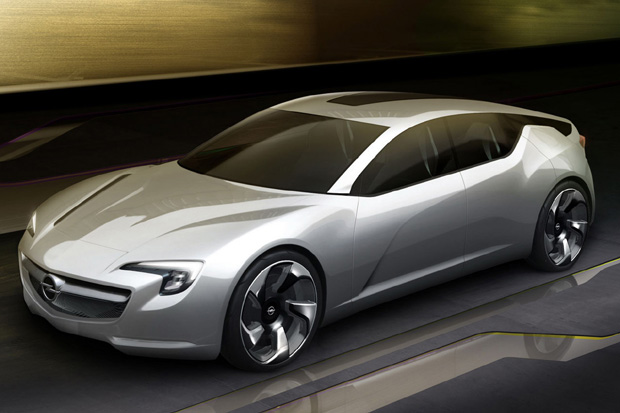 Opel Flextreme GT/E Concept Eléctrico