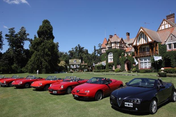 Club Alfa Romeo, reunión Marzo de 2010