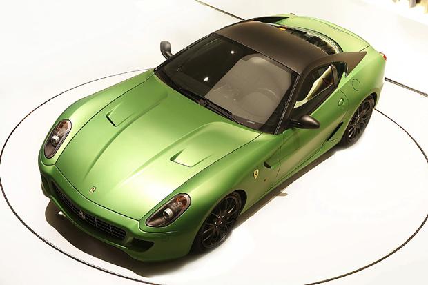 Ferrari 599 HY-KERS híbrido