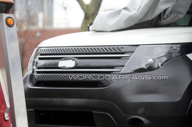 Ford Explorer nueva generación, fotos espías