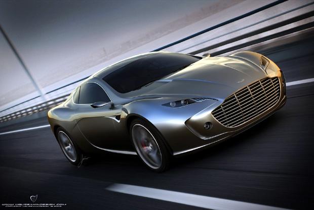 Aston Martin Gauntlet Concept, propuesta de diseño