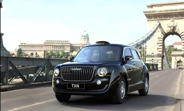 Englon TXN, el taxi Inglés de Geely para China
