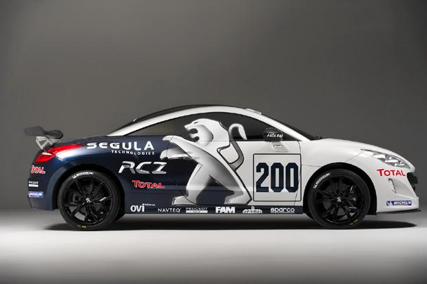 Peugeot RCZ hacia las 24 horas de Nürburgring