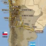 Dakar 2011, recorrido