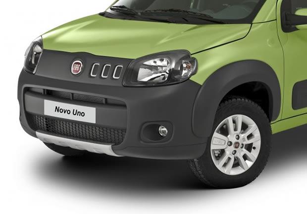 Nuevo Fiat Uno 2010, fotos oficiales