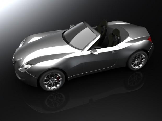 Alfa Romeo Spider estudio de diseño