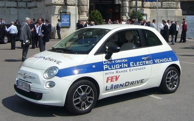 Fiat 500 Liion Drive