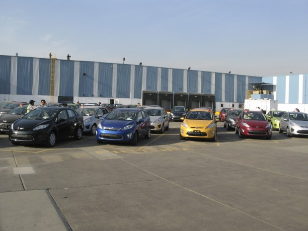 El Ford Fiesta 2011 ya se fabrica en Mexico