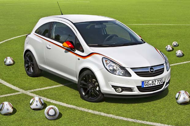 Opel presentó el Corsa Football Championship