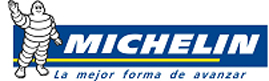 Michelin junto a la mujer
