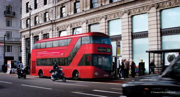Londres renueva sus buses Routemaster