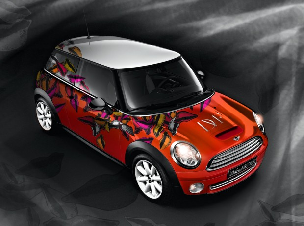 "MINI, recreaciones para el evento ""Life Ball'"