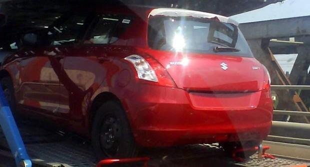 Nuevo Suzuki Swift, fotos espias